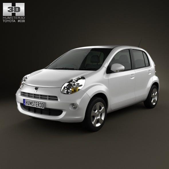 Toyota Passo 2012 - 3DOcean Item for Sale