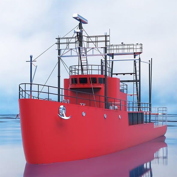 Mini cargo ship