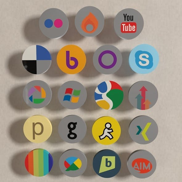 Buddy Icon Pack 02 - 3DOcean Item for Sale