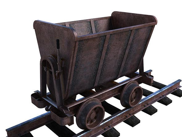 Wagon - 3DOcean Item for Sale