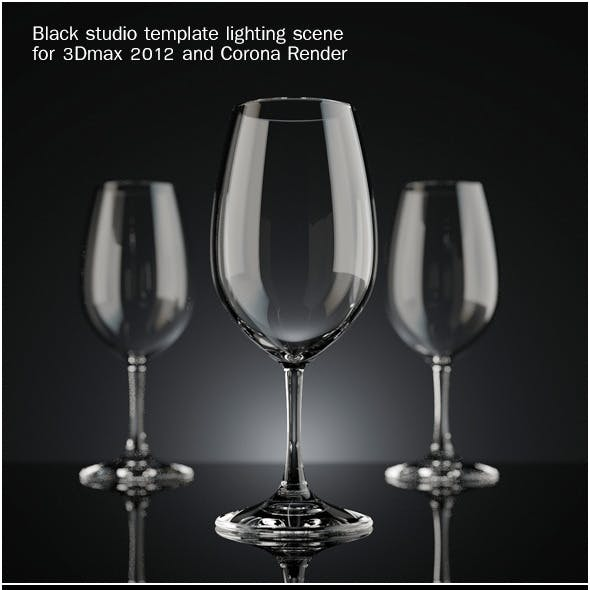 Lighting template for Corona Render