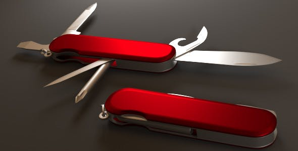 Swiss Army Knife - 3DOcean Item for Sale