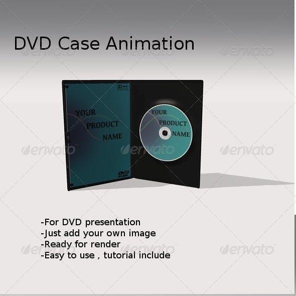 Animated DVD case