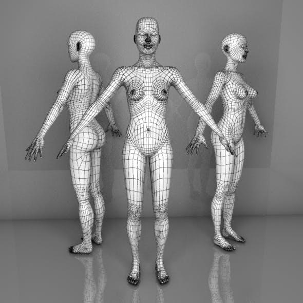 Female Mesh - 3DOcean Item for Sale
