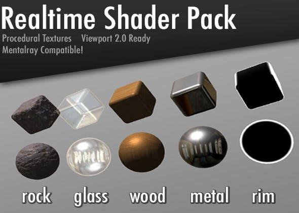 Realtime Shader Pack - 3DOcean Item for Sale