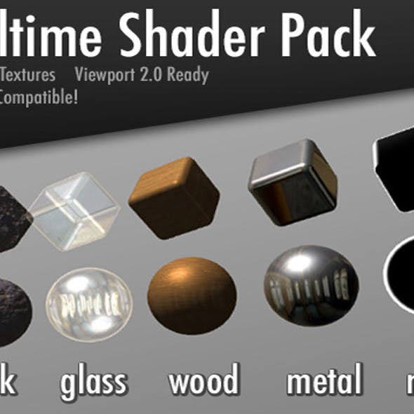 Realtime Shader Pack