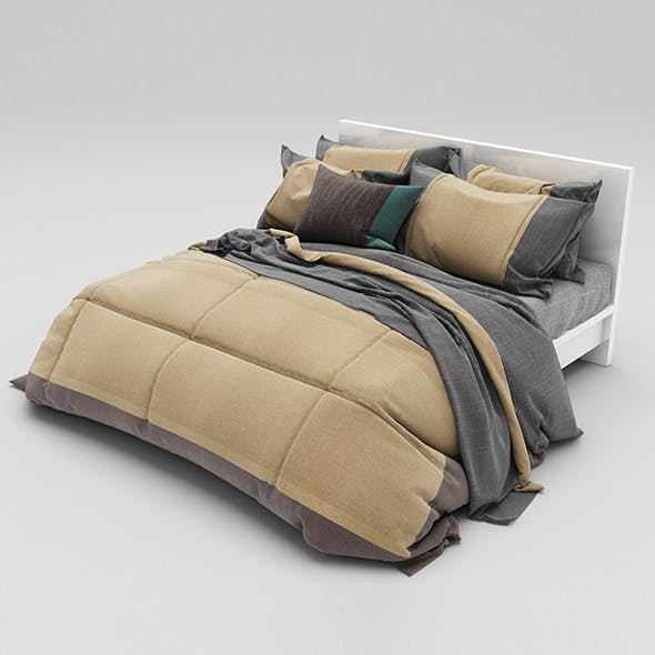 Bed 33 - 3DOcean Item for Sale