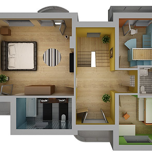 Home Interior Floor Plan 02