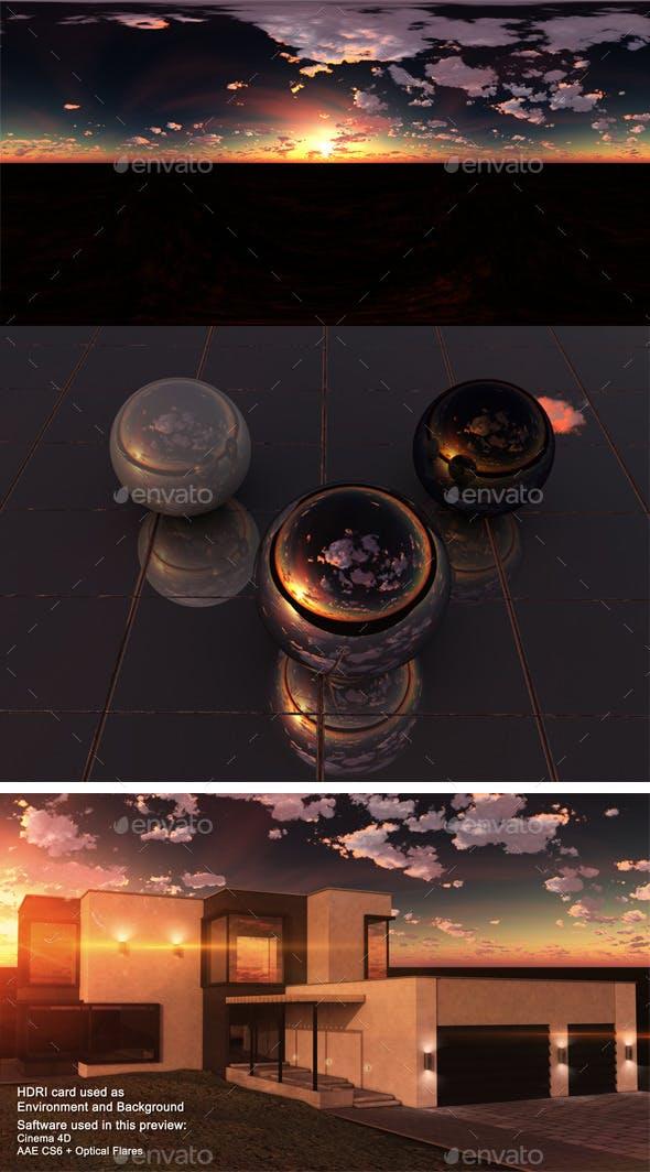 Sunset Desert 1 - 3DOcean Item for Sale