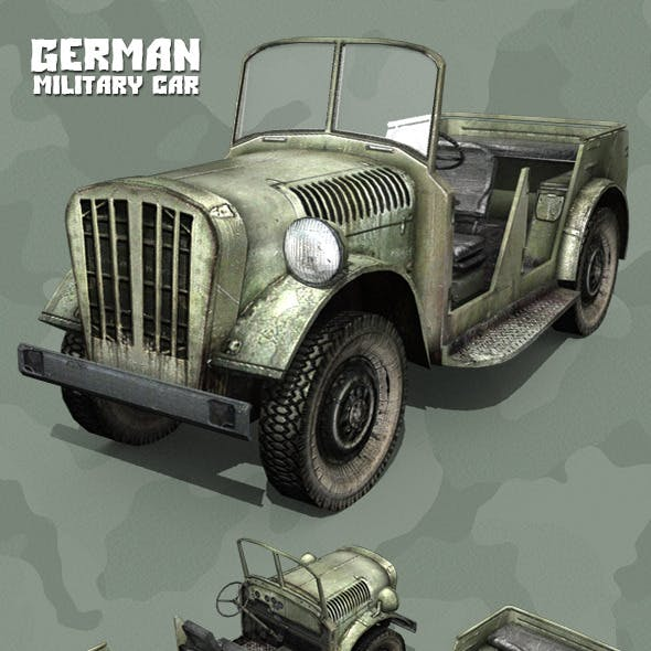 German WWII Military Car
