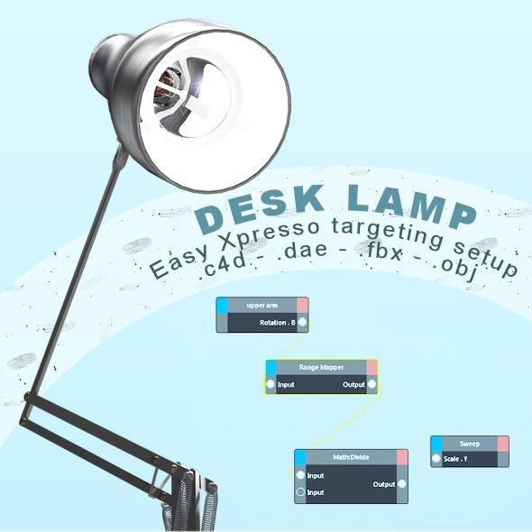 DeskLamp Automated Model