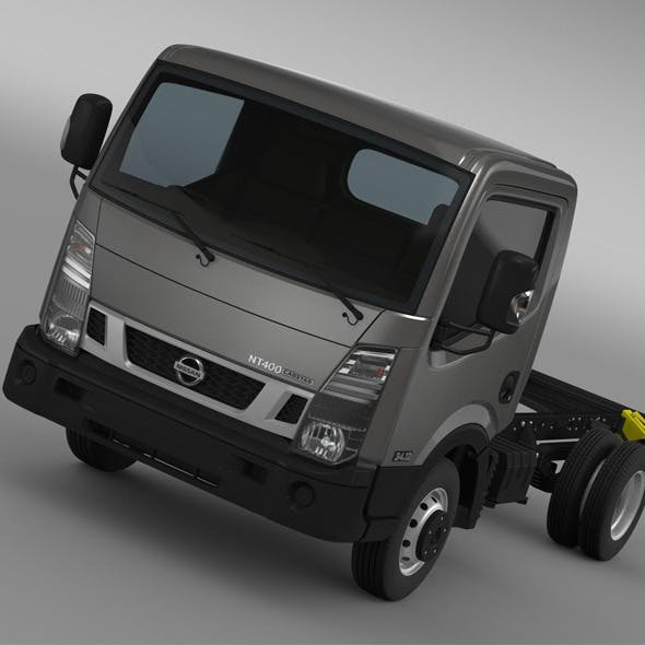 Nissan NT400 Cabstar 2014 Chassi - 3DOcean Item for Sale