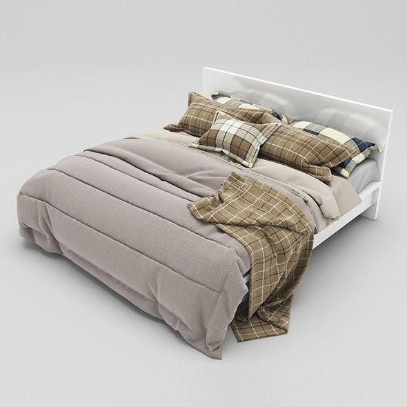 Bed 36 - 3DOcean Item for Sale