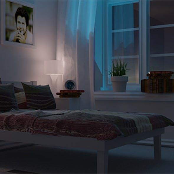 Night view interior