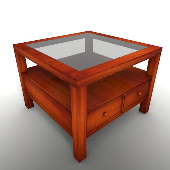 Square Coffee Table - 3DOcean Item for Sale