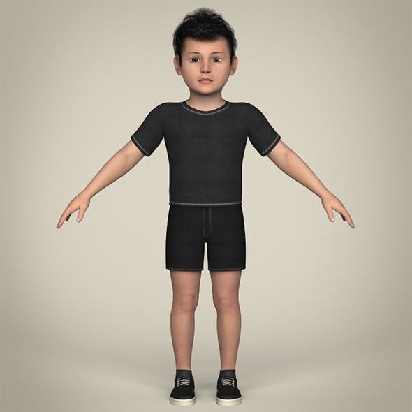 Realistic Little Boy
