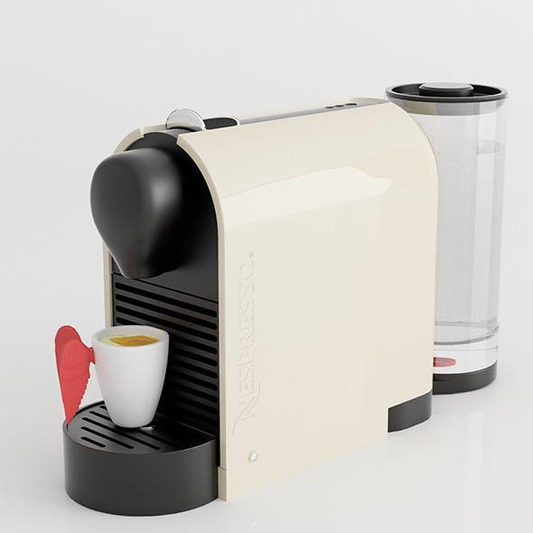 Nespresso Machine with Pylone cup