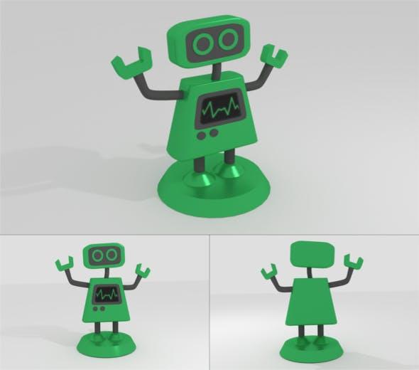 G Mecha Robot Figure - 3DOcean Item for Sale