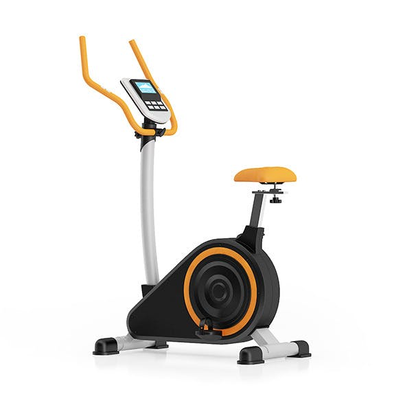 Stationary Magnetic Bike - 3DOcean Item for Sale