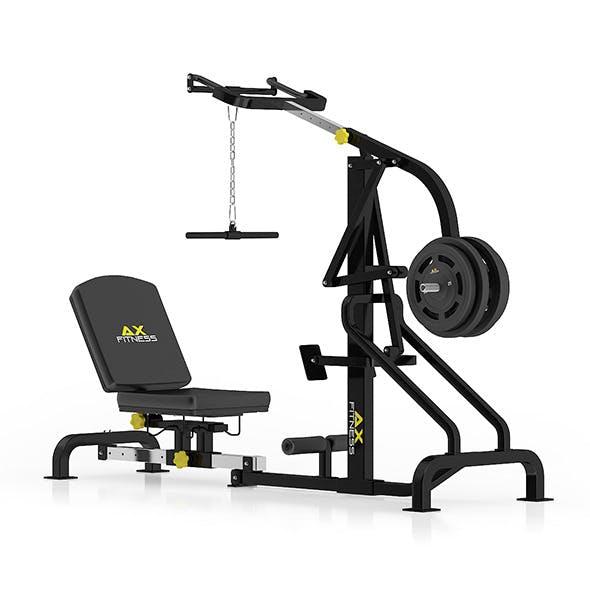 Lever Gym Machine
