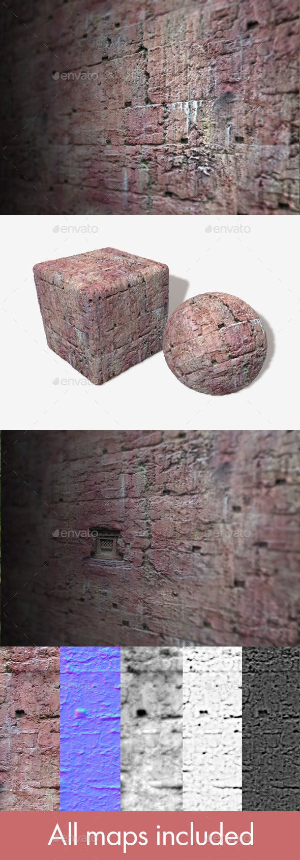 Clay Wall 1 Seamless Texture - 3DOcean Item for Sale