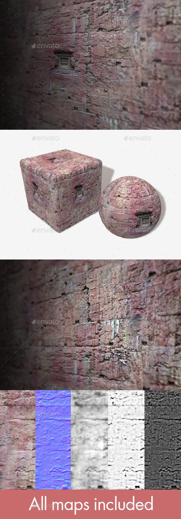 Clay Wall 2 Seamless Texture - 3DOcean Item for Sale