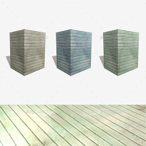 Stained Wood Seamless Textures x3