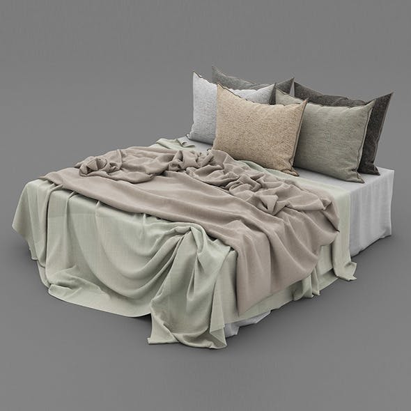 Bed 39 - 3DOcean Item for Sale