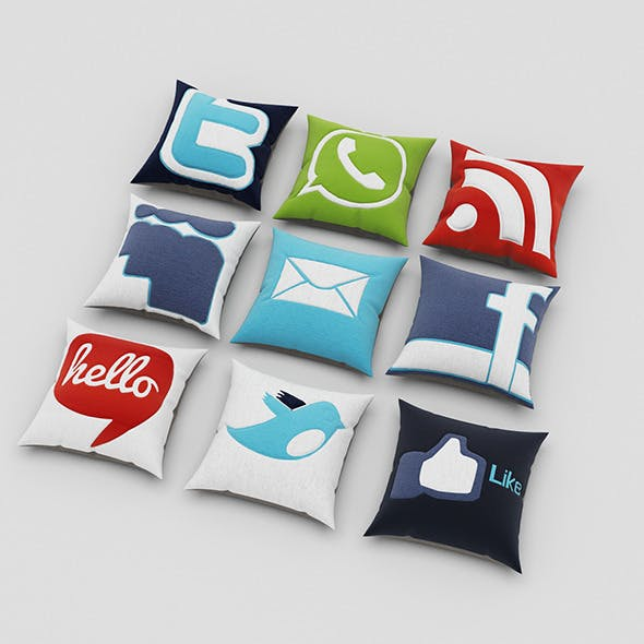 Pillows 59 - 3DOcean Item for Sale