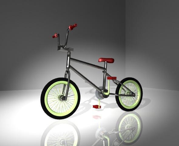 Bike BMX - 3DOcean Item for Sale