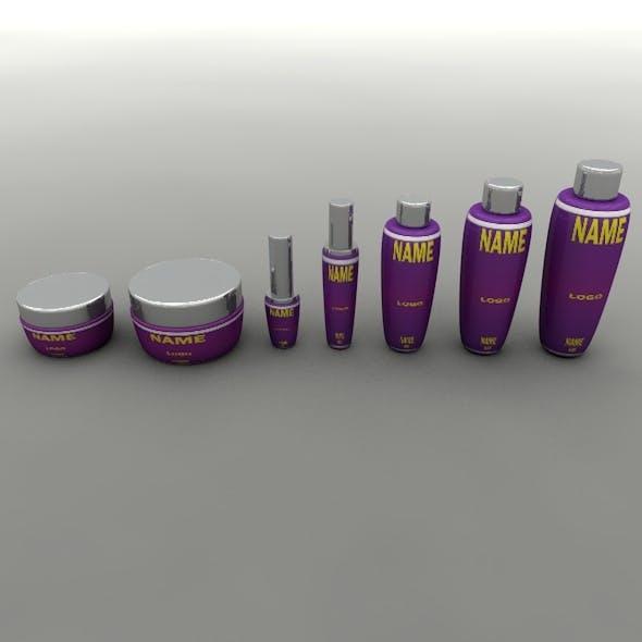 Cosmetic Tube Set 01
