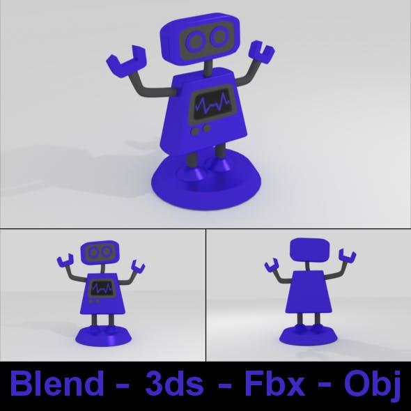 B Mecha Robot Figure - 3DOcean Item for Sale