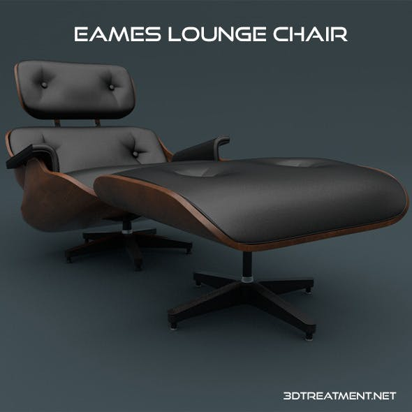 Eames Lounge Chair - 3DOcean Item for Sale