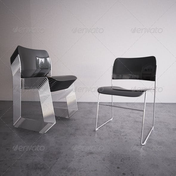 40/4 Chair - 3DOcean Item for Sale