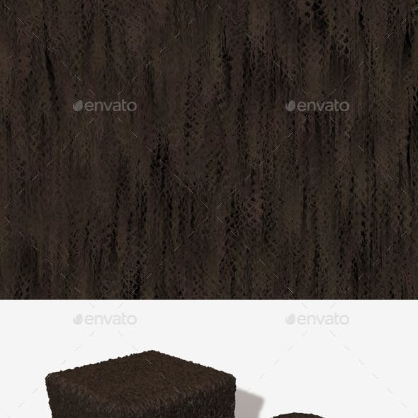 Frizzy Brown Fur Seamless Texture
