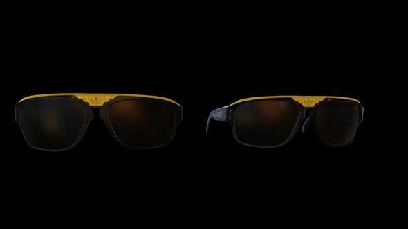 adidas sunglasses - 3DOcean Item for Sale
