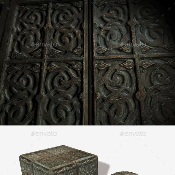 Antique Box Seamless Texture