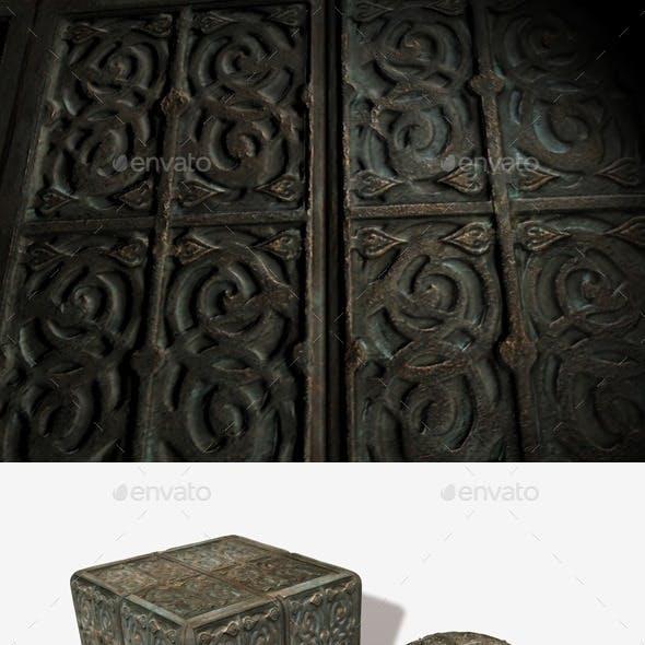 Antique Box Seamless Texture
