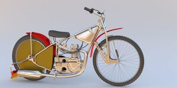 Speedway Bike - 3DOcean Item for Sale