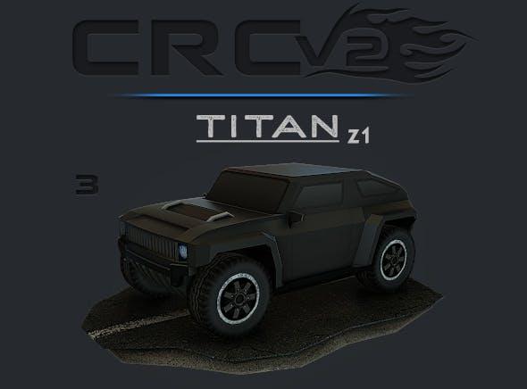 CRCPV2-03 – Cartoon Race Car Pack V2 03 - 3DOcean Item for Sale