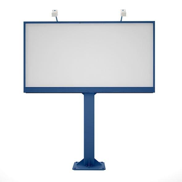 Billboard Advertising - 3DOcean Item for Sale