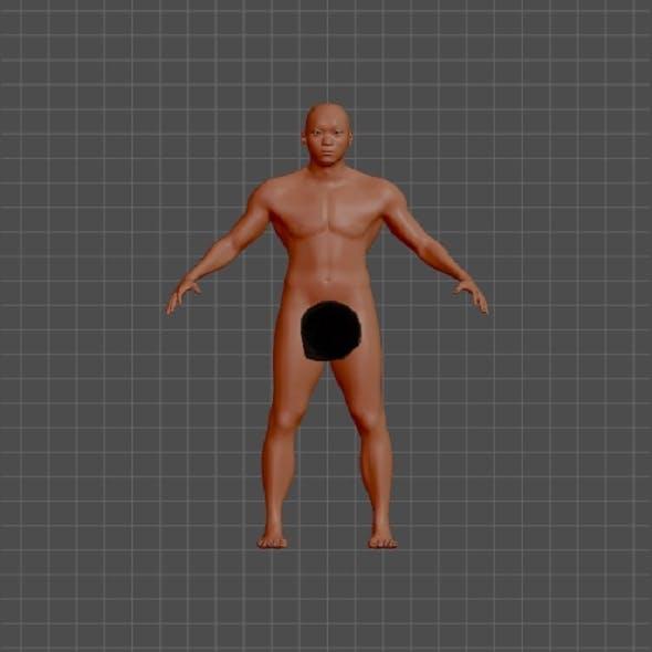 aziat 3d model - 3DOcean Item for Sale