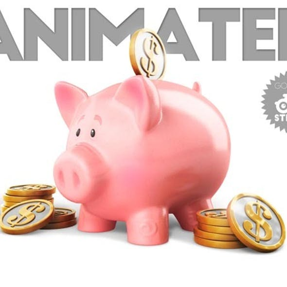 Piggy Bank Animated