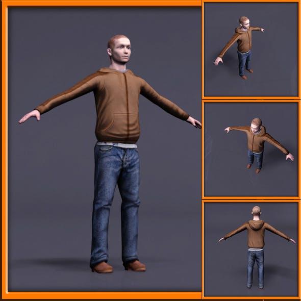 Sportswear Male - 3DOcean Item for Sale