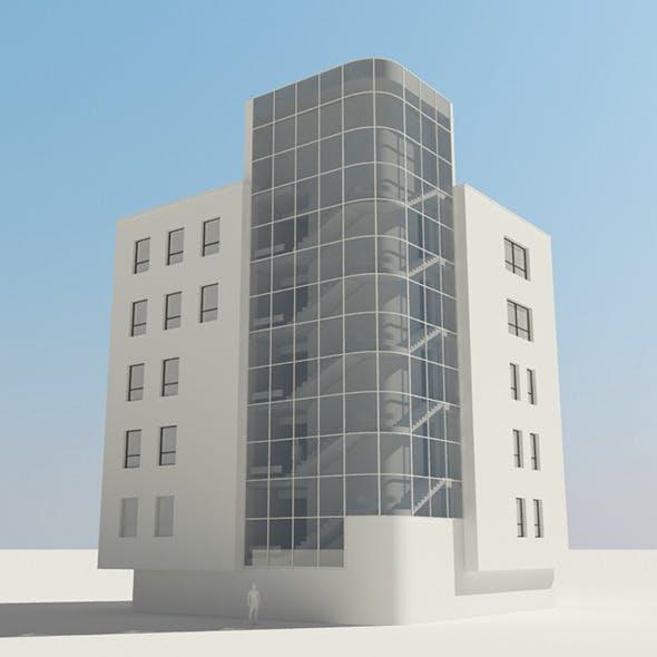 bakery building - 3DOcean Item for Sale