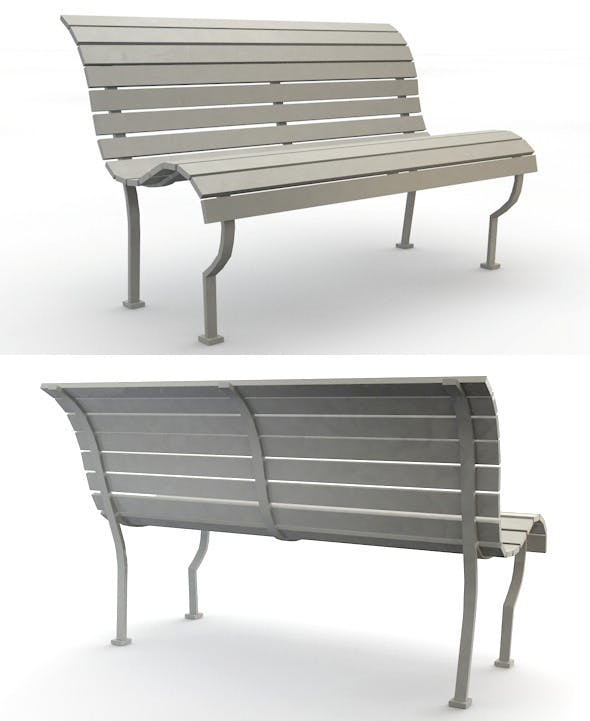 Park Bench - 3DOcean Item for Sale
