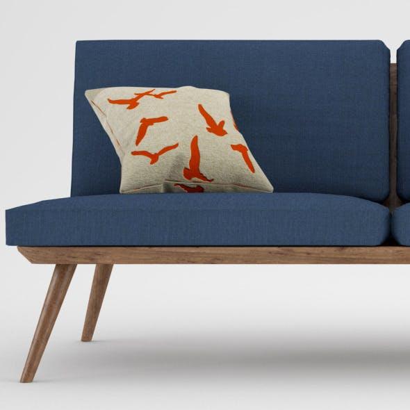 Vintage Sofa - 3DOcean Item for Sale
