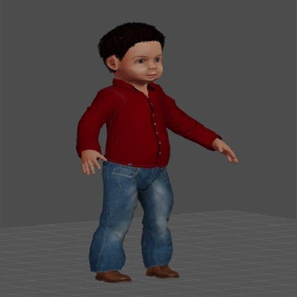 boy 3D - 3DOcean Item for Sale