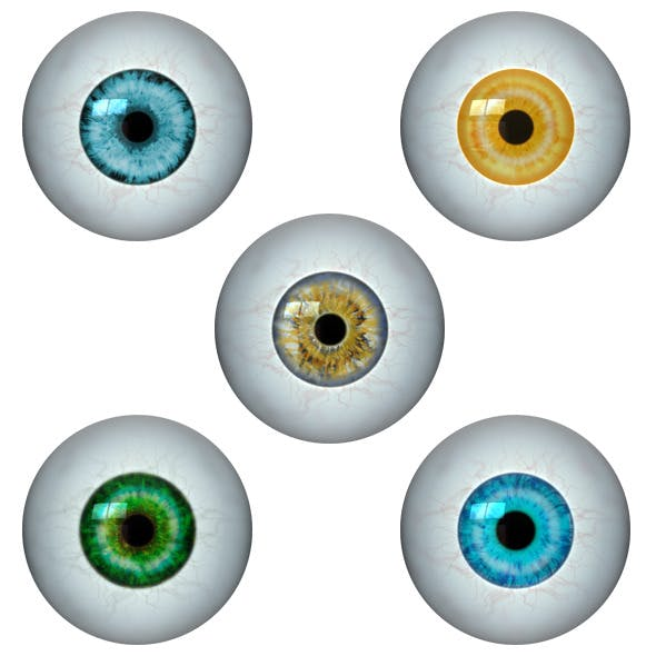 Realistic Eye Ball