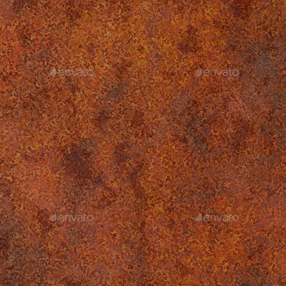 Seamless Severely Rusted Metal Texture - 3DOcean Item for Sale